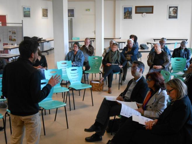 Première réunion du conseil citoyen de Manosque
