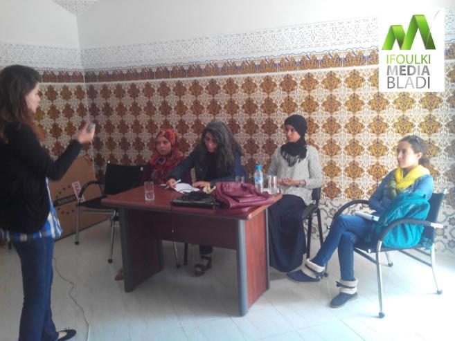 Khadija, Soukaina, Fatiha, Layla et Aïcha