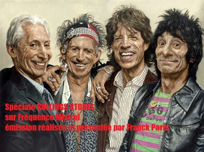 Les Rolling Stones au coeur d'une émission spéciale samedi soir