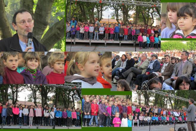 Digne a accueilli une imposante chorale juvénile en lengo nostro