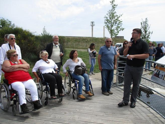 Le belvédère de Sainte Tulle labellisé « Tourisme et Handicap »