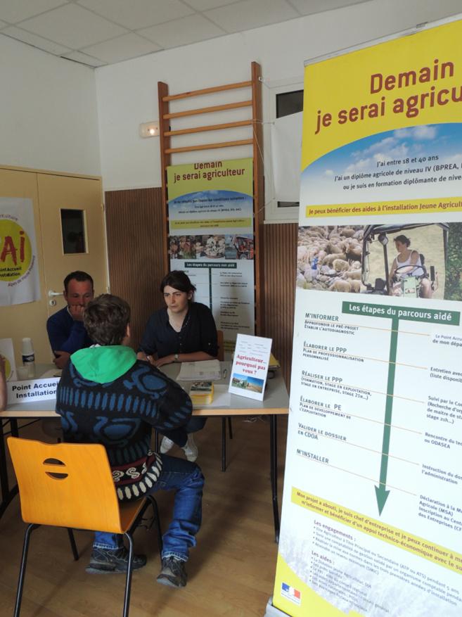Un forum pour les jeunes agriculteurs à Carmejane