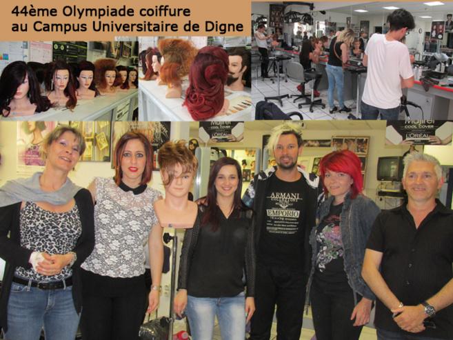 Le CFA de Digne a accueilli les épreuves des 44èmes Olympiades de la Coiffure