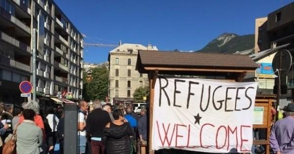 Les lycéens briançonnais s'expriment sur les migrants