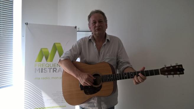 Michel Ivonio, auteur-compositeur, en concert à Céreste