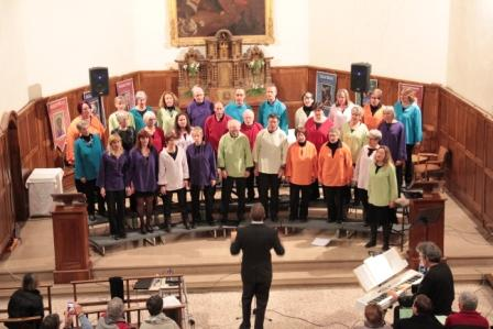 L'association Sing'Phonie regroupe trois chorales
