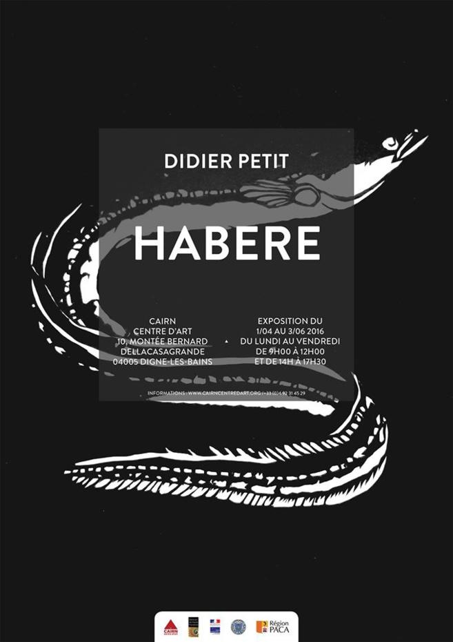 """L'artiste Didier Petit exposait au CAIRN """"Habere"""" à Digne-les-Bains. Il nous livre ses nouveaux projets"""