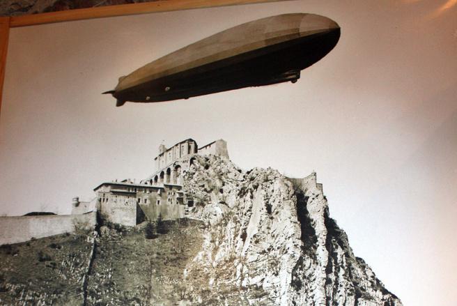 Il y a 100 ans un Zeppelin tombait du ciel vers Sisteron !