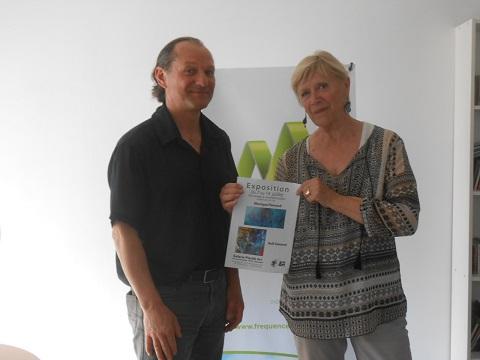 Monique Flamand et Rolf General vont exposer à Manosque