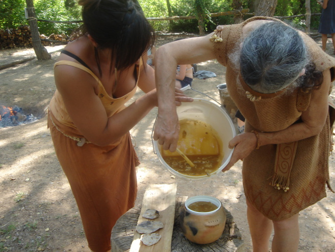 Journées de la préhistoire 2015 - Quinson