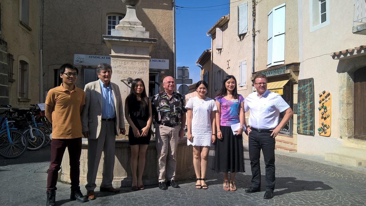 L'Office de tourisme de Gréoux-les-Bains a accueilli trois stagiaires chinoises…