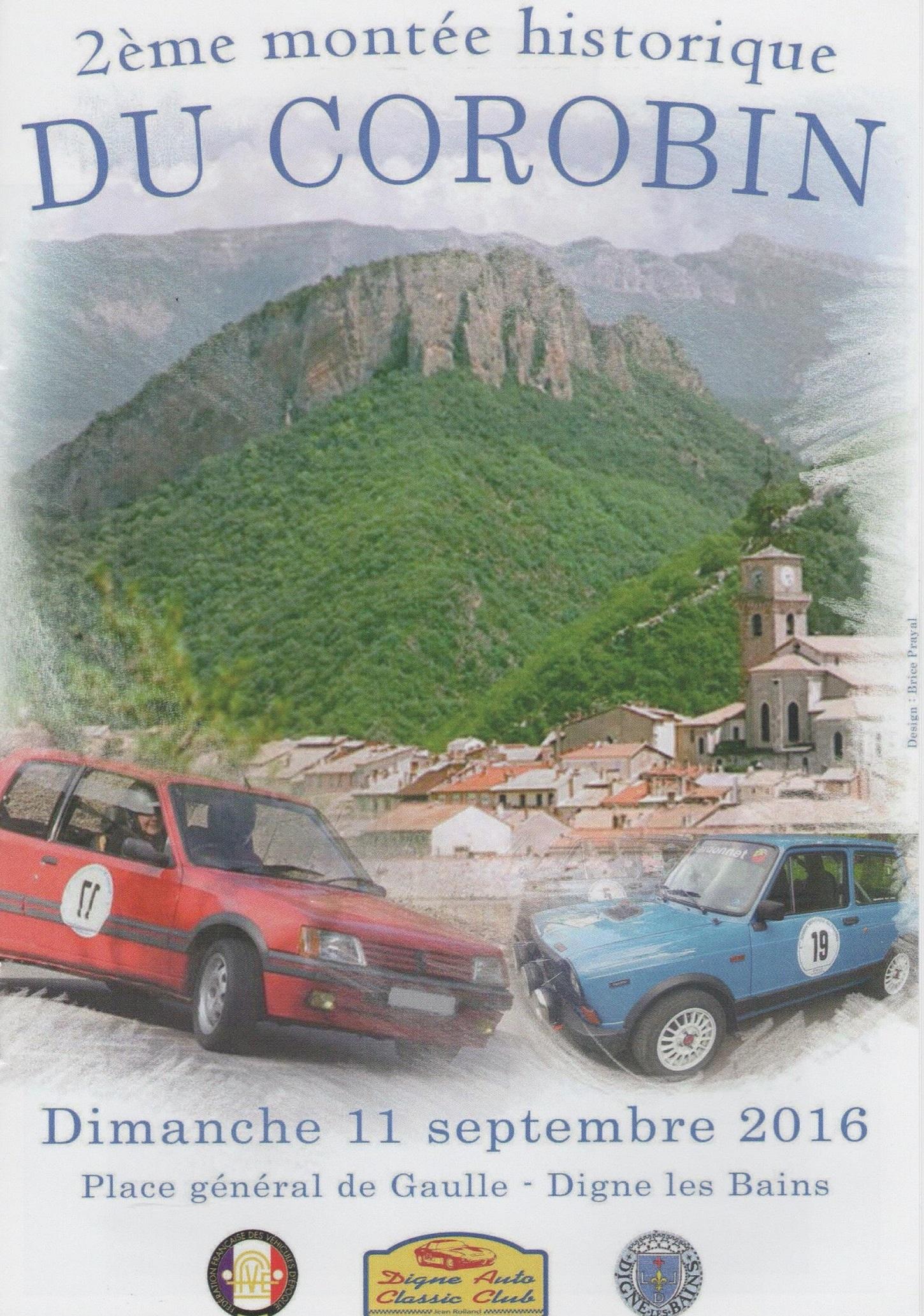 Montée historique du col du Corobin avec des bolides d'époque