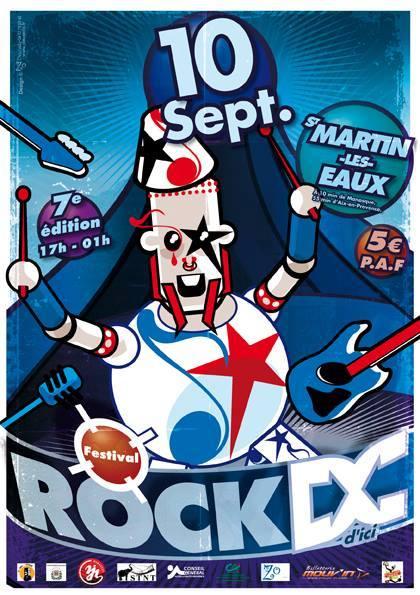 Rock d'Ici a lieu samedi 10 septembre à St Martin les Eaux