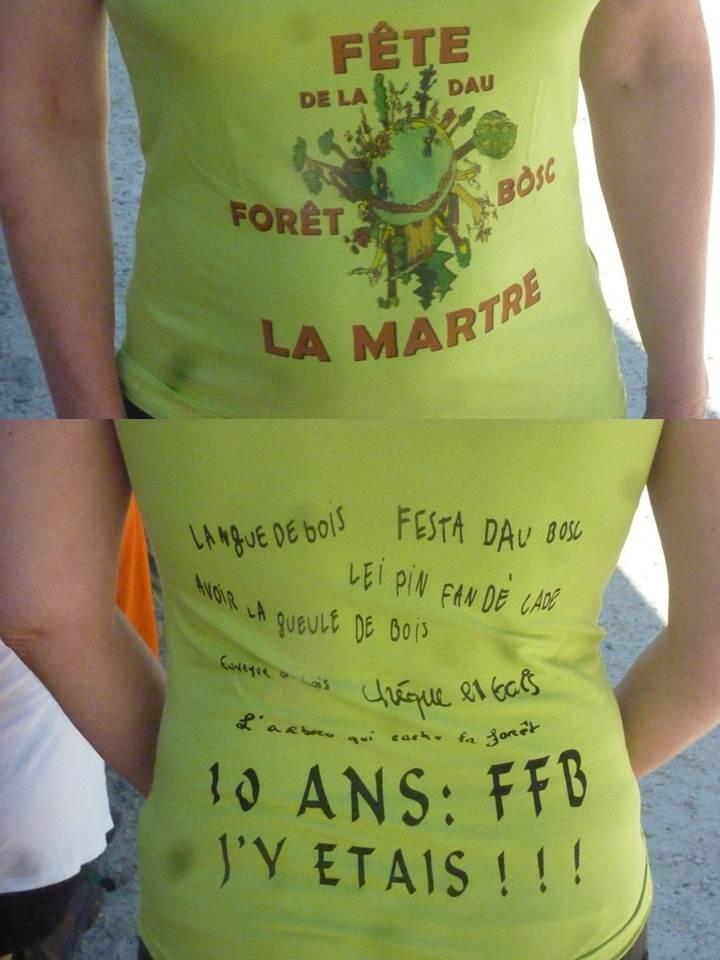 Dix ans déjà pour la Fête du Bois à La Martre