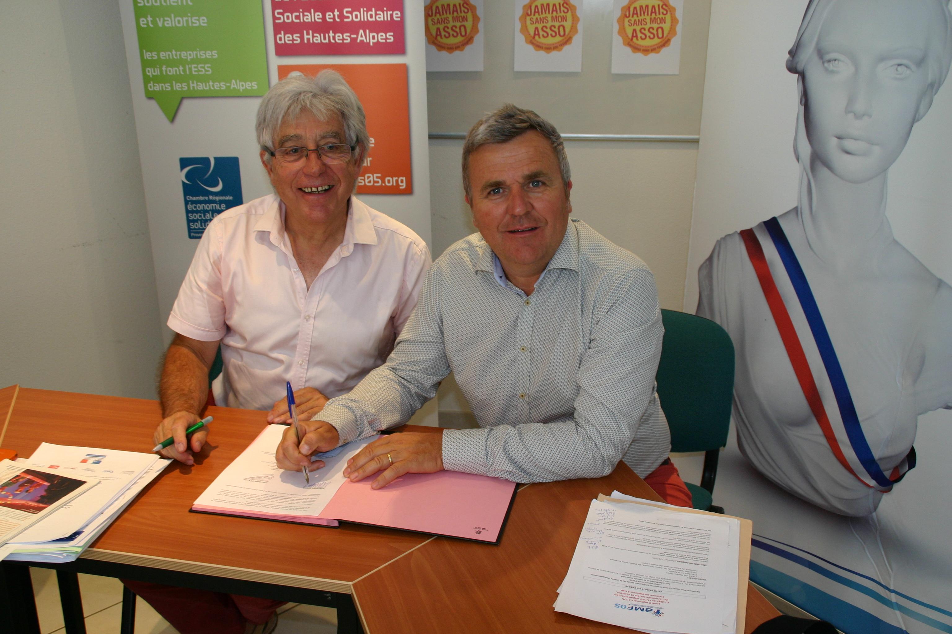 Communes et associations signent une charte d'engagement réciproque