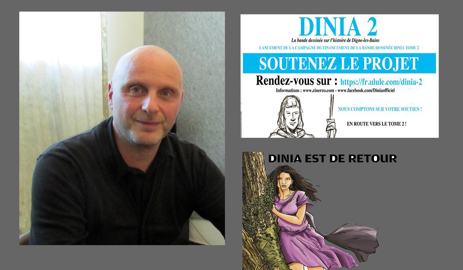 La bande dessinée Dinia verra t-elle une suite ?