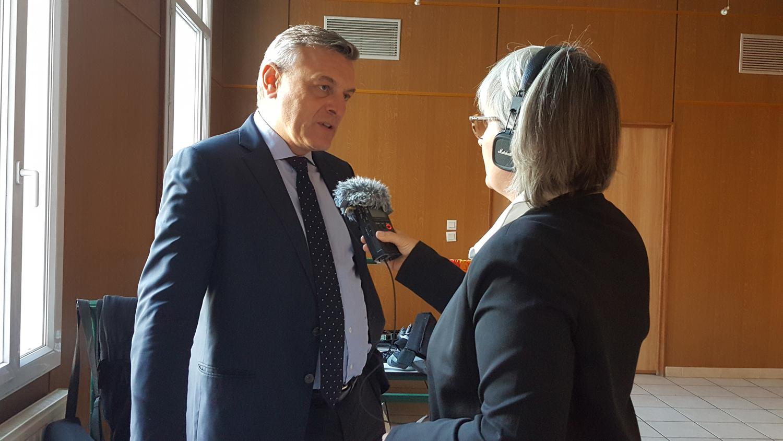 François-Xavier Bieuville Directeur de la Fondation du Patrimoine