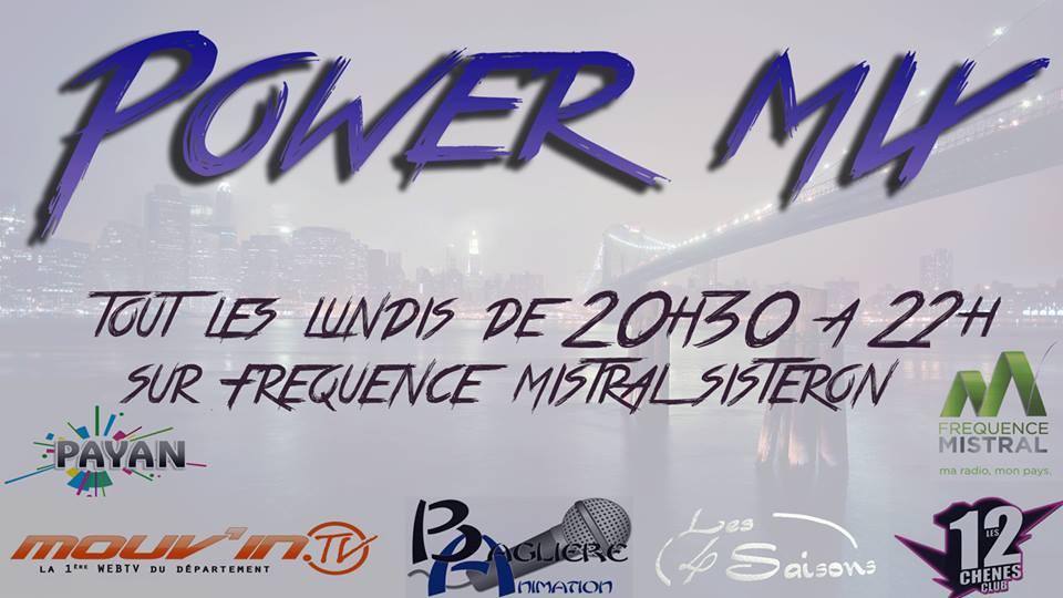 POWER MIX - LUNDI 17 OCTOBRE 2016 : LA NOUVELLE EMISSION !