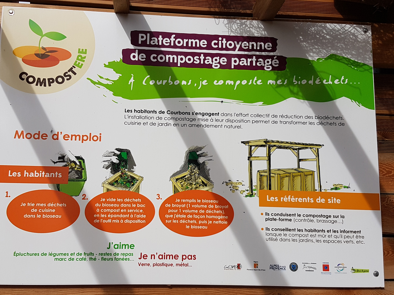 Des habitants-citoyens produisent ensemble leur compost dans le 04