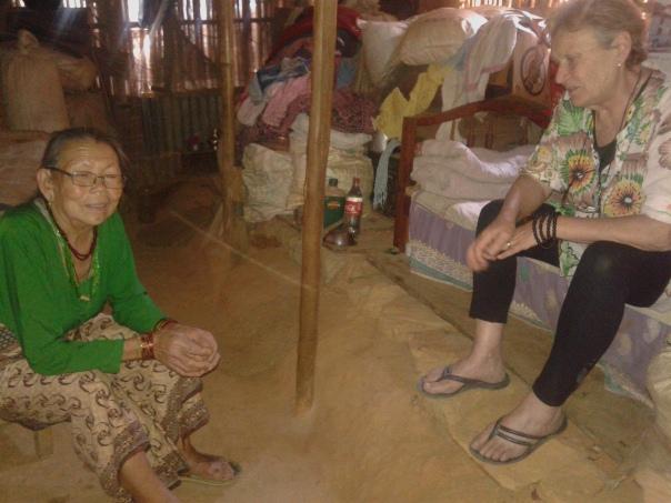 Des nouvelles sur la reconstruction du Népal par l'association des Amitiés Franco-Népalaises à Comps-sur-Artuby
