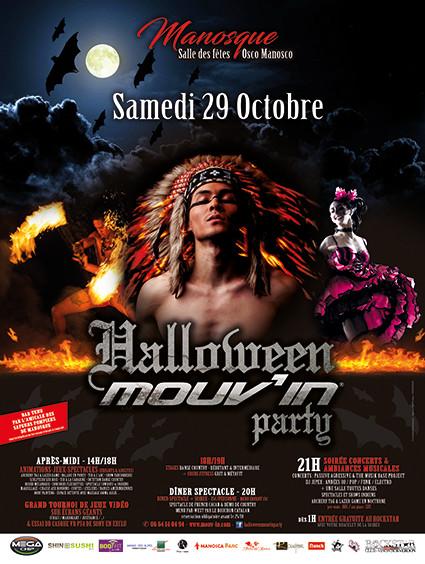 Le magazine Mouv'in fête Halloween ce samedi avec ses lecteurs à Manosque