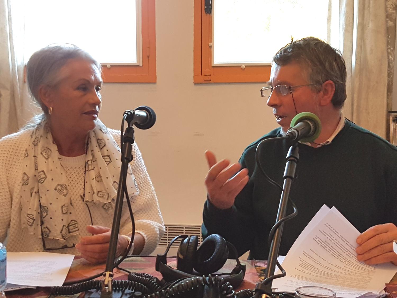 Jacqueline Hennegrave et Régis Coulange