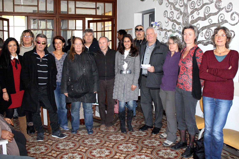 Le Centre de Jour de Sisteron a participé à la régate « Voile en Tête »