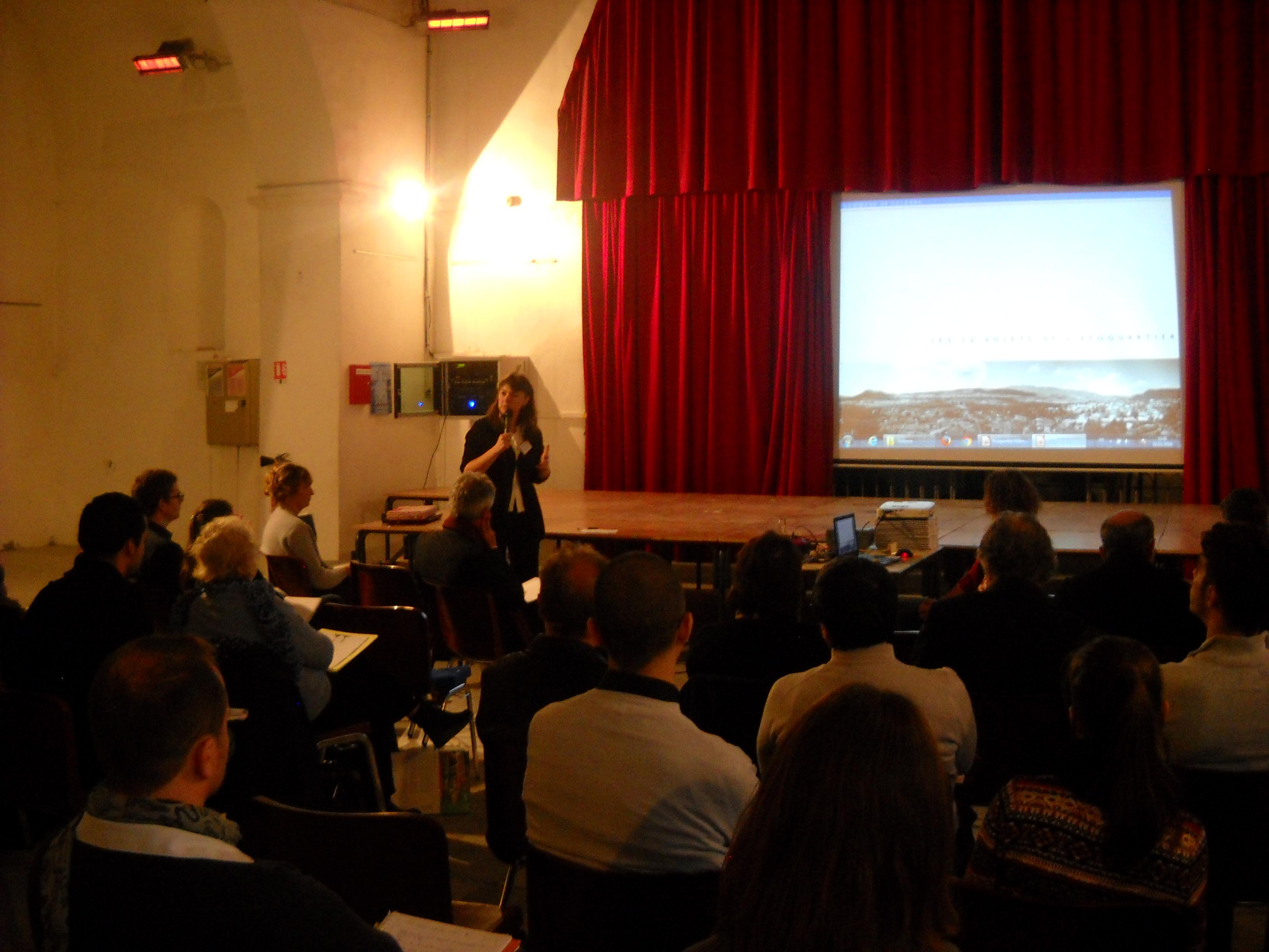 Nourrissant un beau projet, Volonne a accueilli le Club régional Eco-quartier