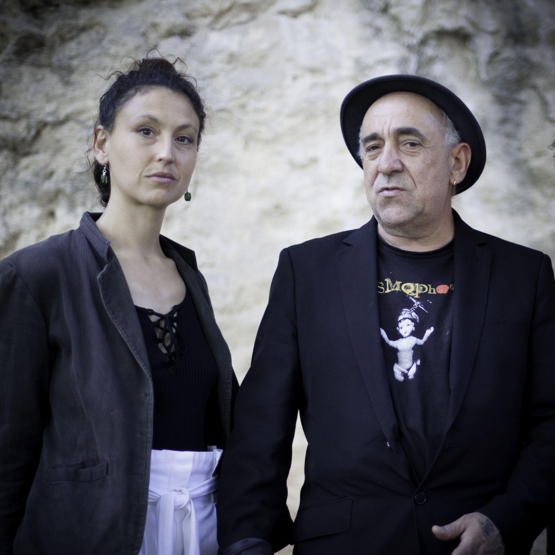 OTTILIE B et DENIS PEAN (crédit photo Mathieu Mangaretto)