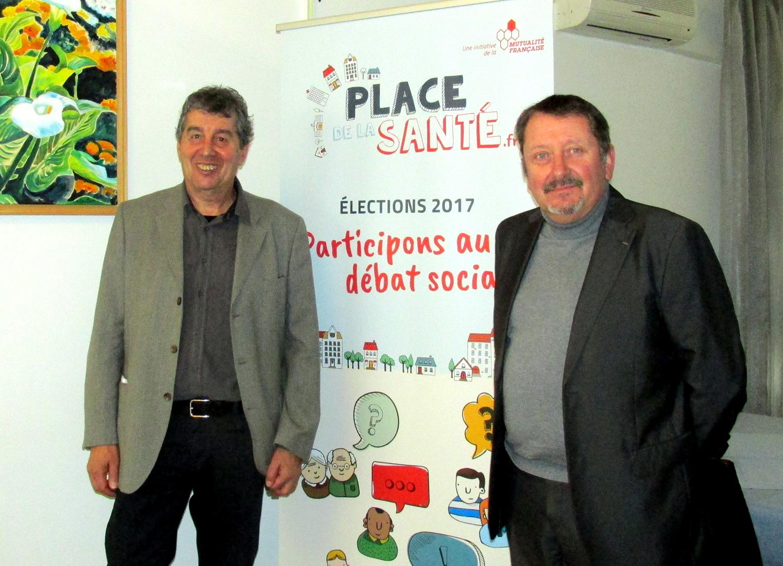 Jacky Comte et Denis Philippe