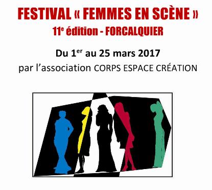 La 11° édition du Festival Femmes en Scène est ouverte à Forcalquier