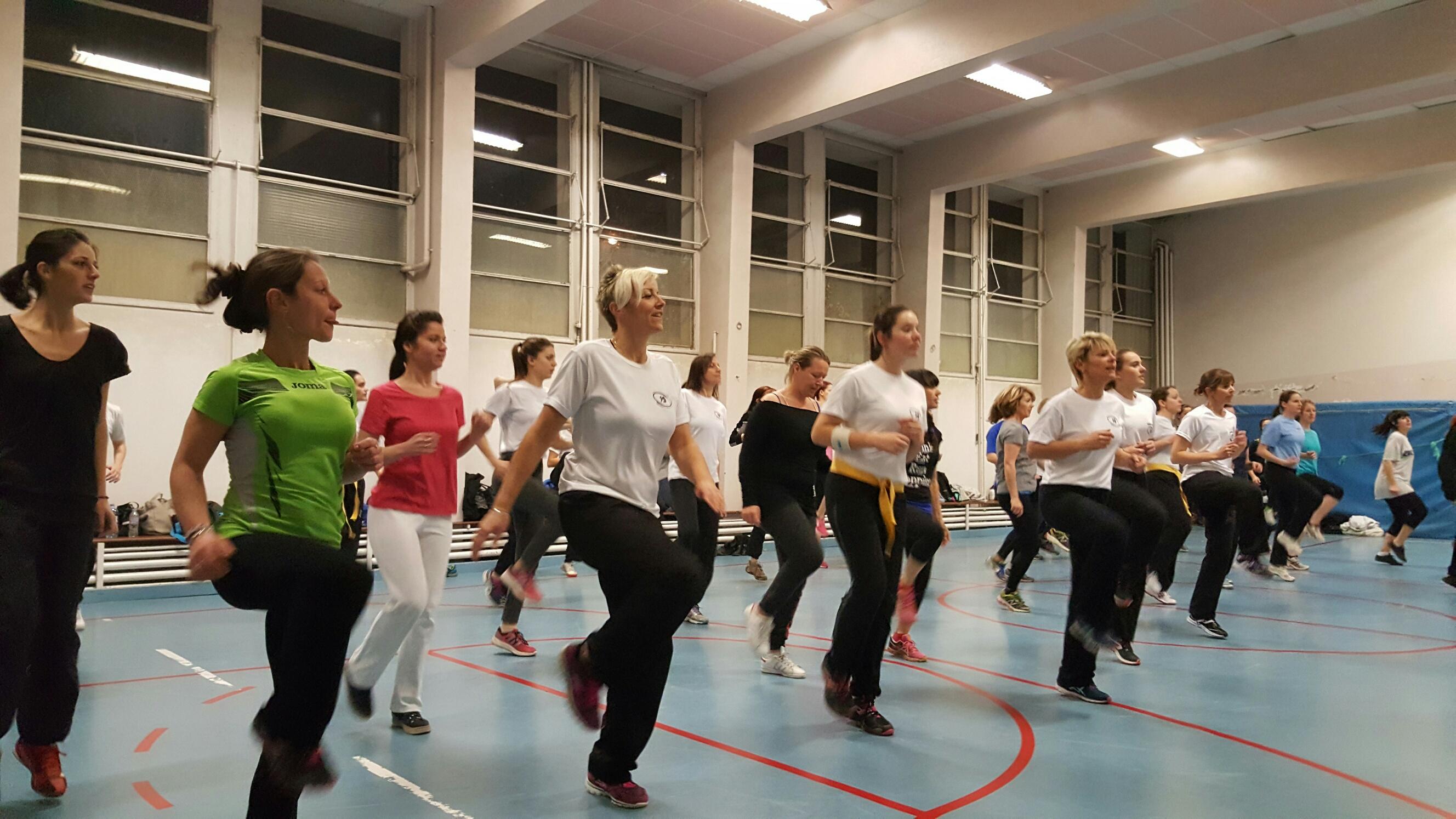 Un cours d'initiation au Krav Maga à l'occasion de la journée de la femme
