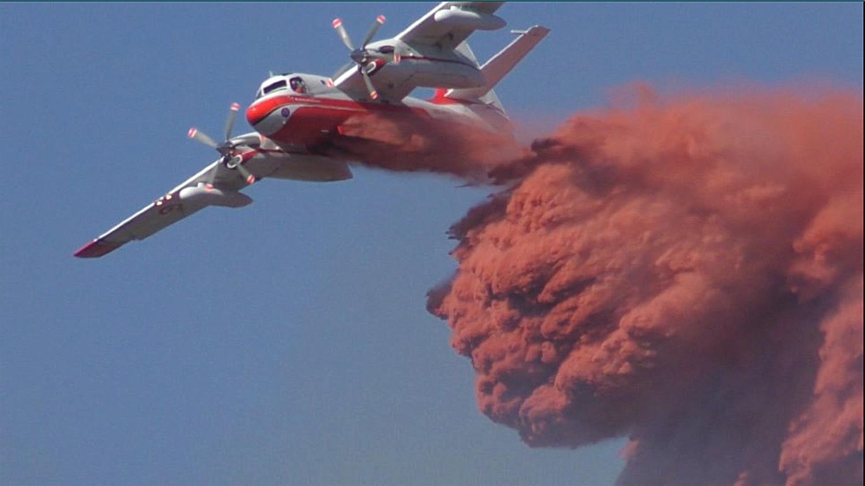 A Digne un incendie maîtrisé au niveau des Hautes Sieyes