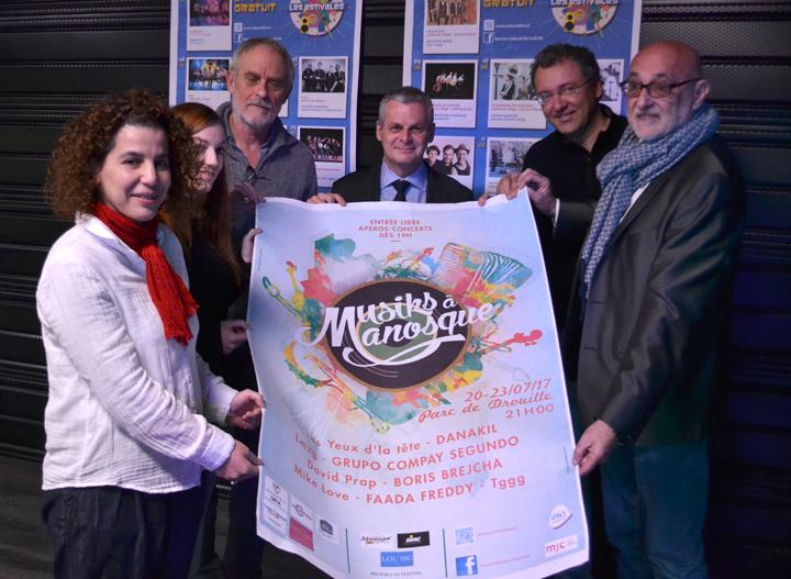 Le voile est levé sur le 32ème festival Musiks à Manosque