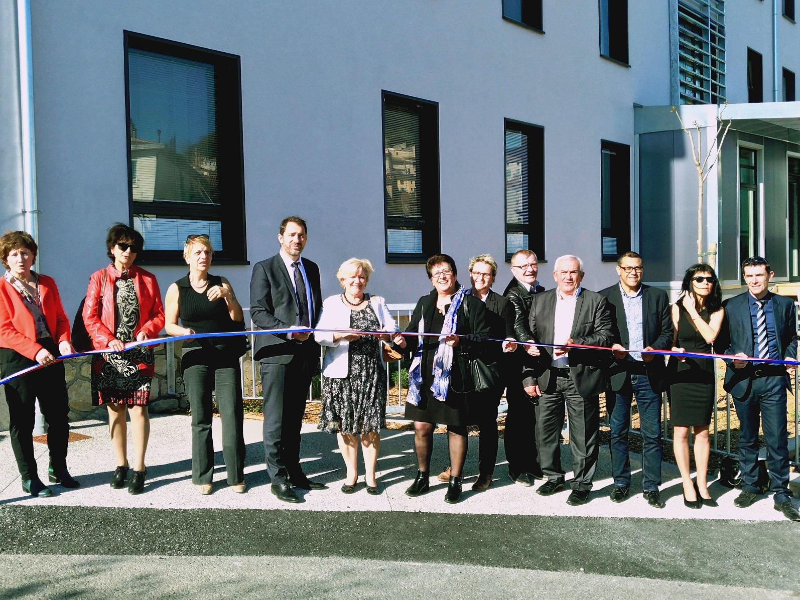 Le Centre Médico-social de Forcalquier a été inauguré !