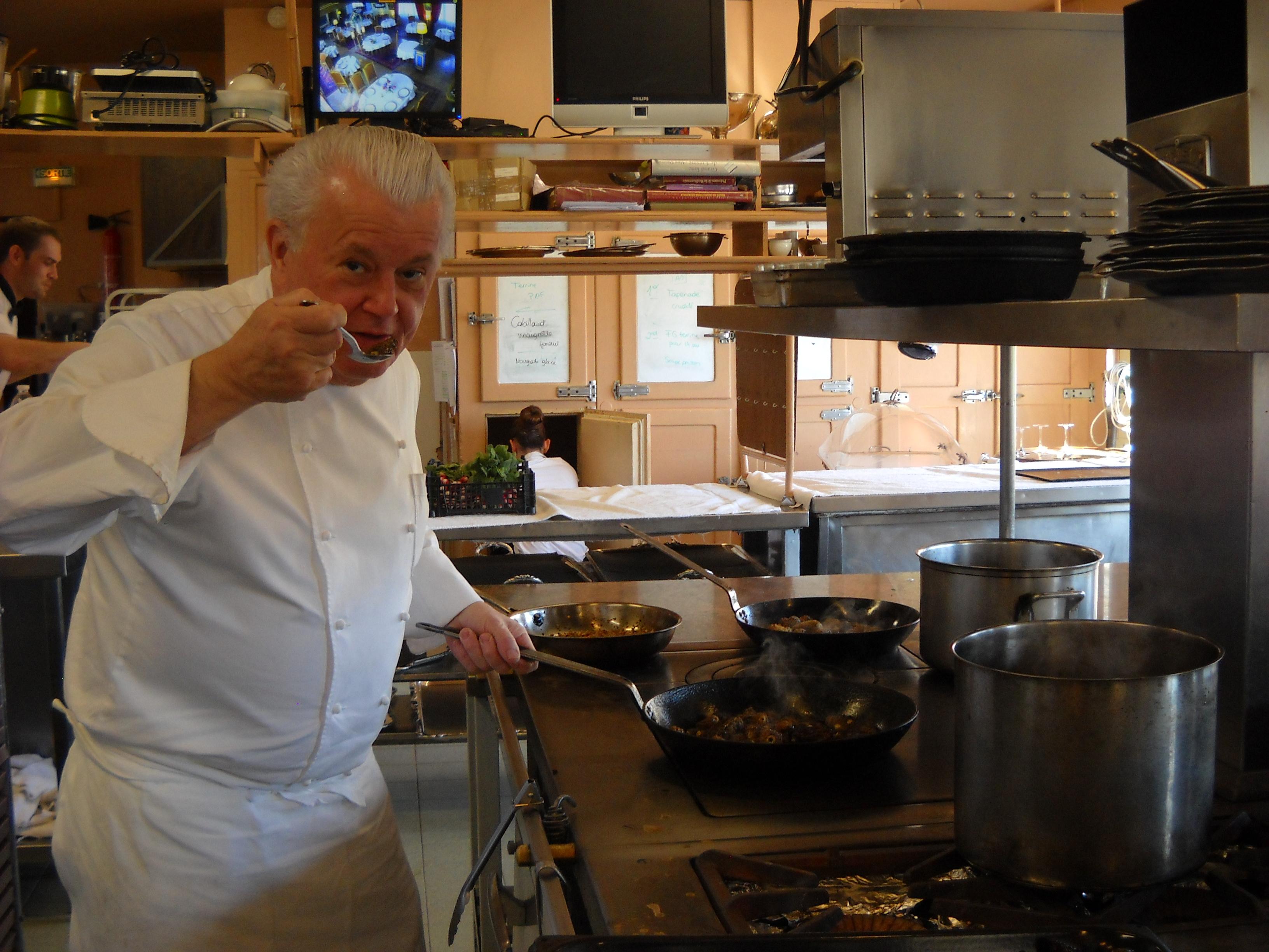Des cours de cuisine la bonne tape for Grande ecole de cuisine
