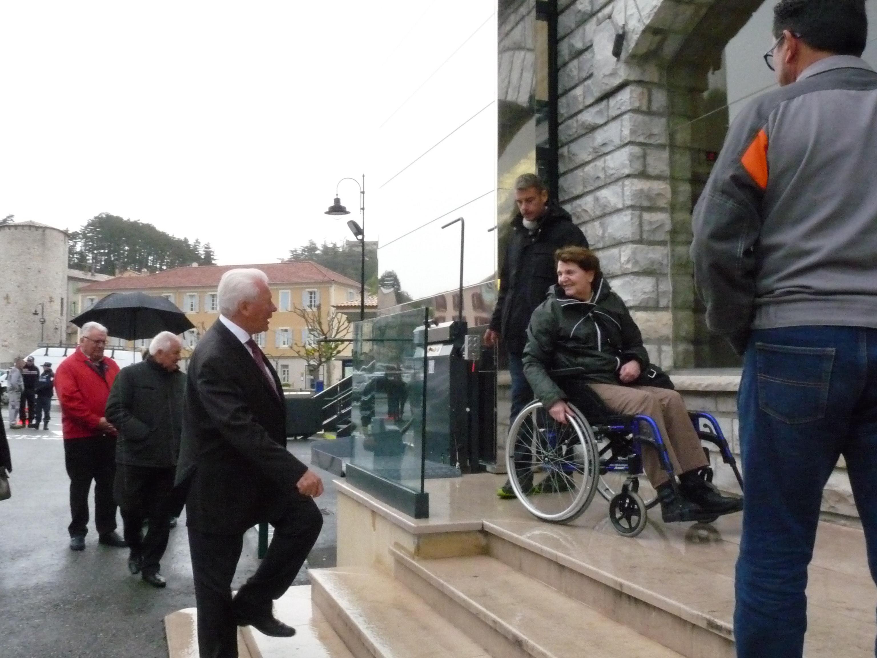A Sisteron, l'hôtel de ville est désormais accessible à tous