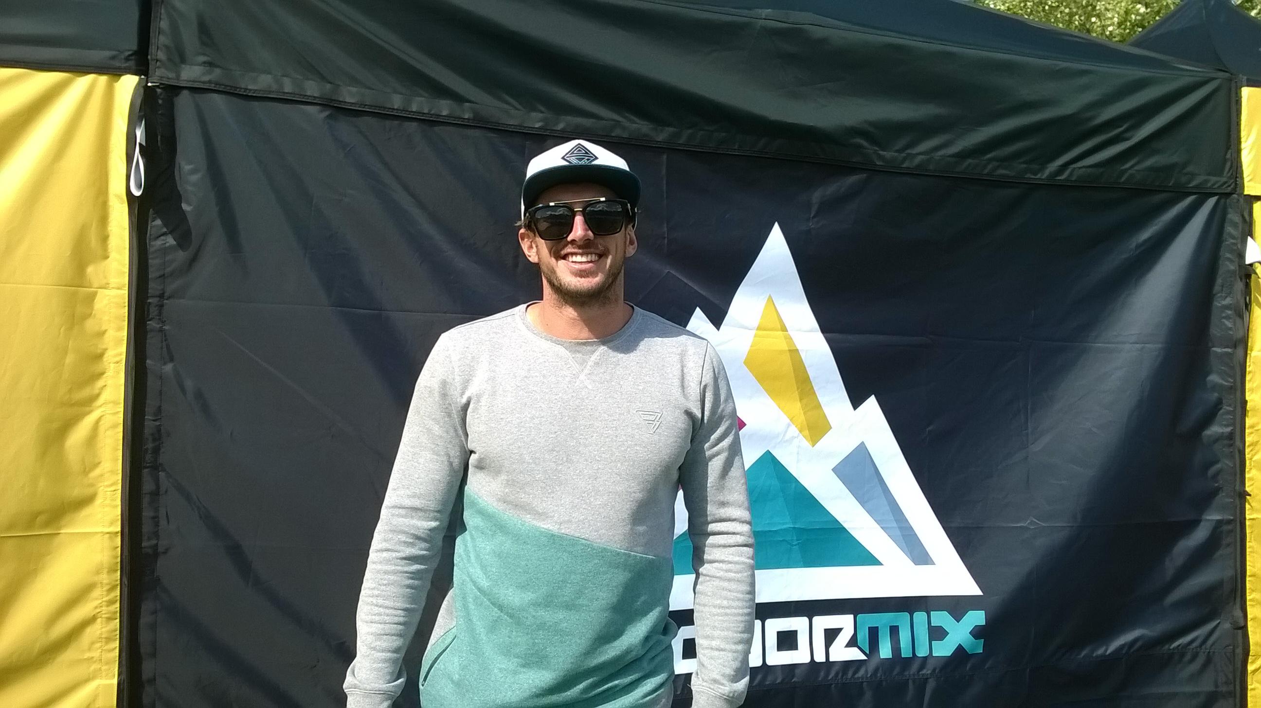 Youri Zoon le double champion du monde de kitesurf a fait une halte à Embrun