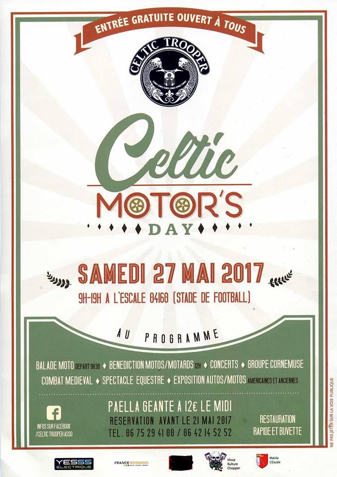le celtic motor's day : l'évènement à ne pas manquer ce samedi à l'escale !