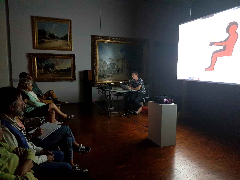 Rencontre avec le public au Musée Gassendi de Digne-les-Bains