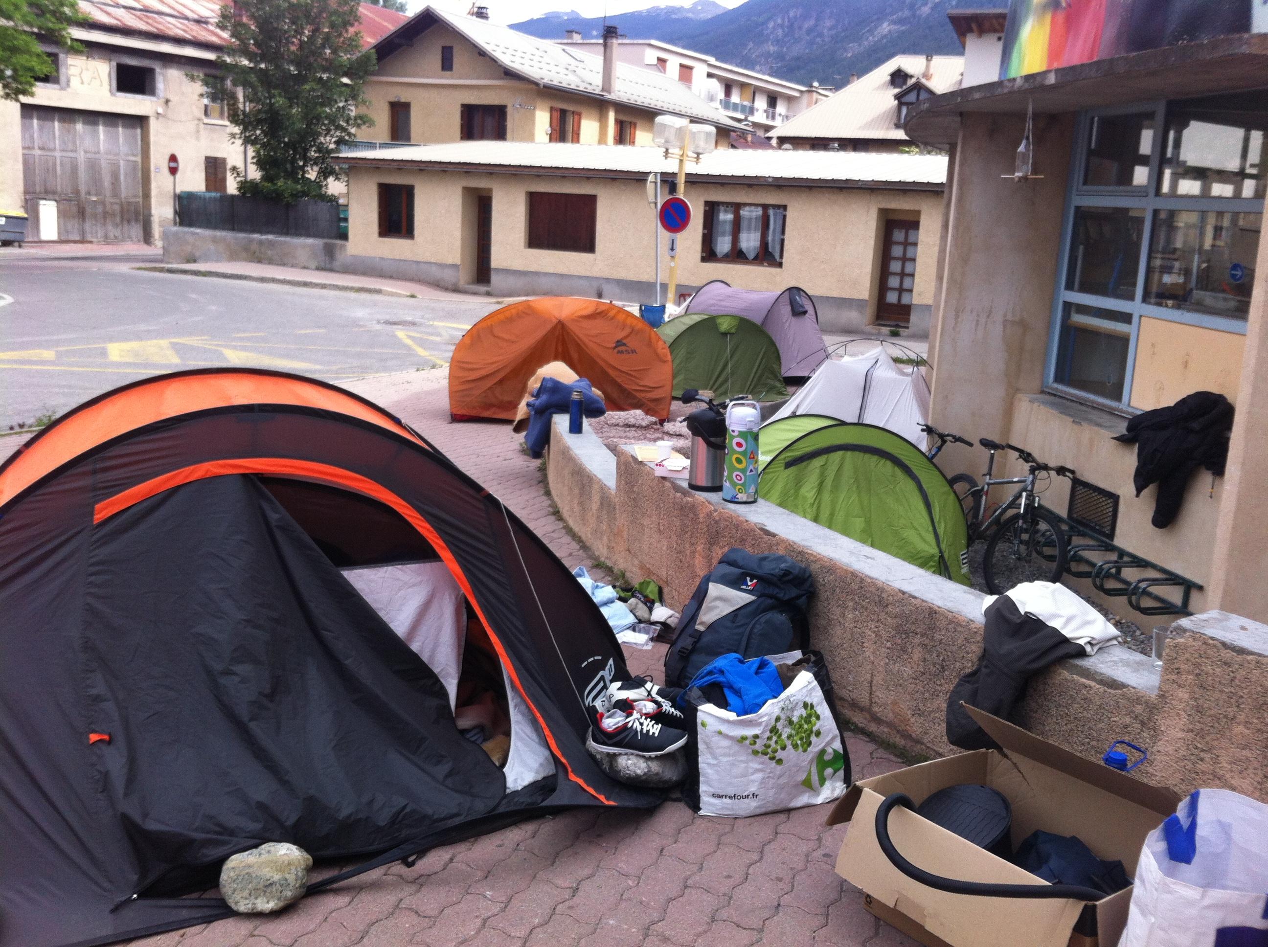 Des migrants accueillis à Briançon engagent une grève de la faim