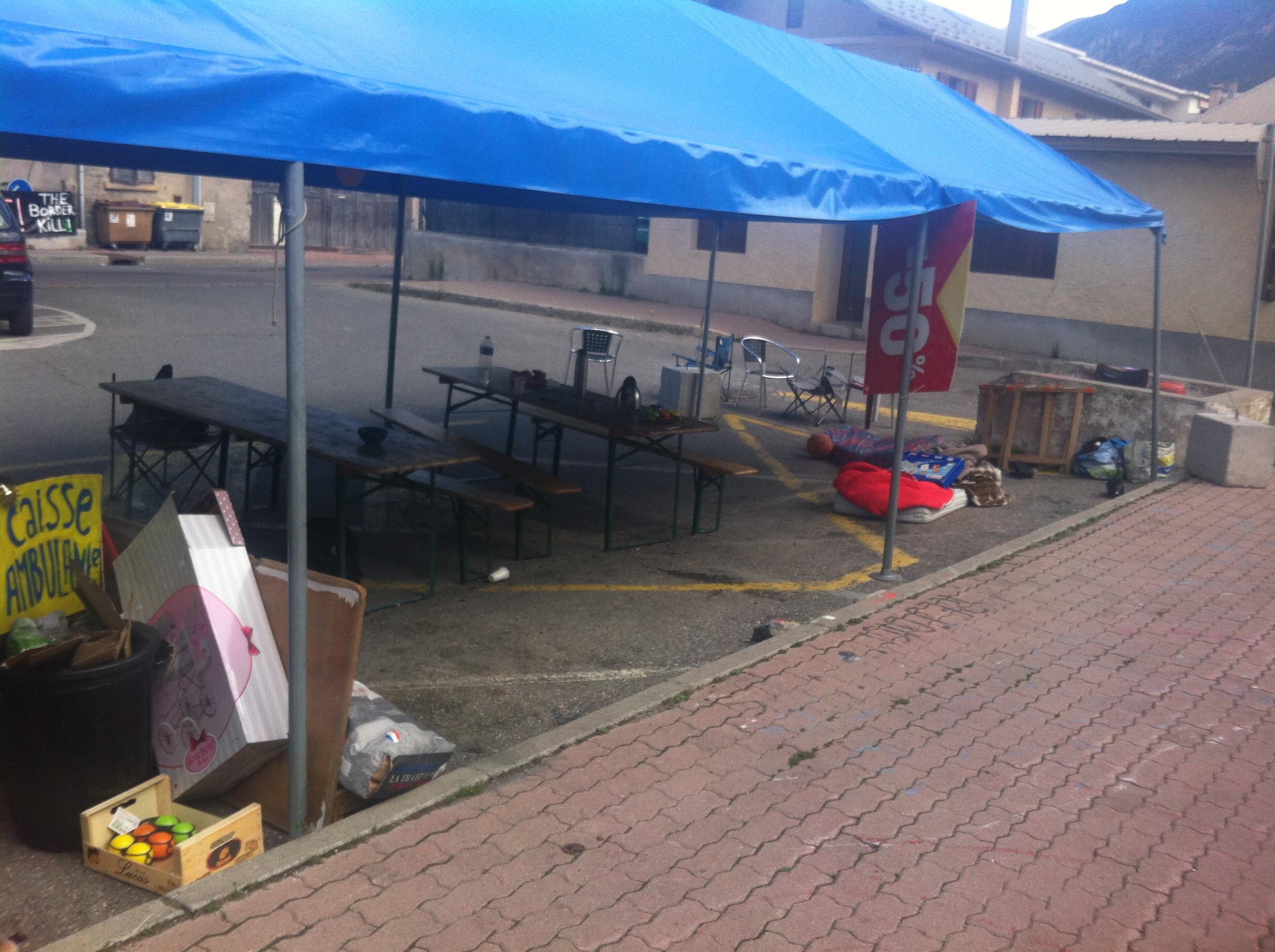 La situation des migrants stagne à Briançon…