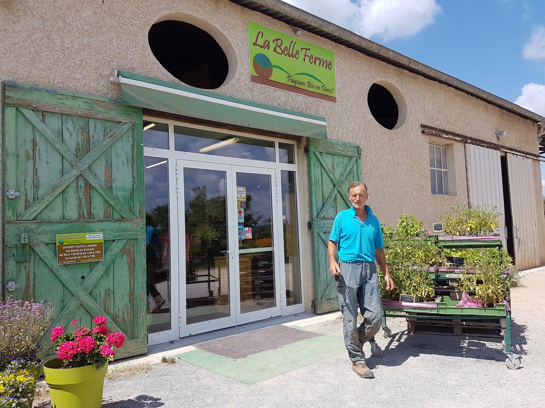La belle ferme : produits bio en vente directe près de Manosque