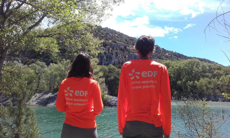 Julie et Jean, hydroguides EDF