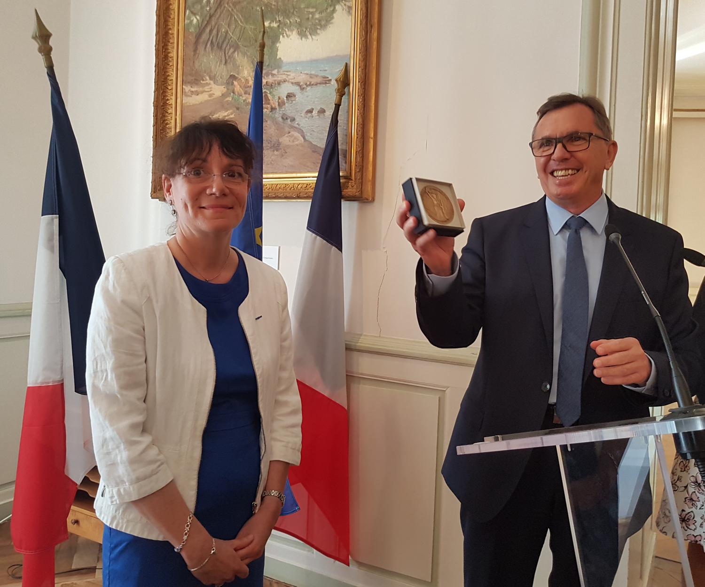 Catherine Duval a fait ses au revoir au Département des Alpes de haute Provence