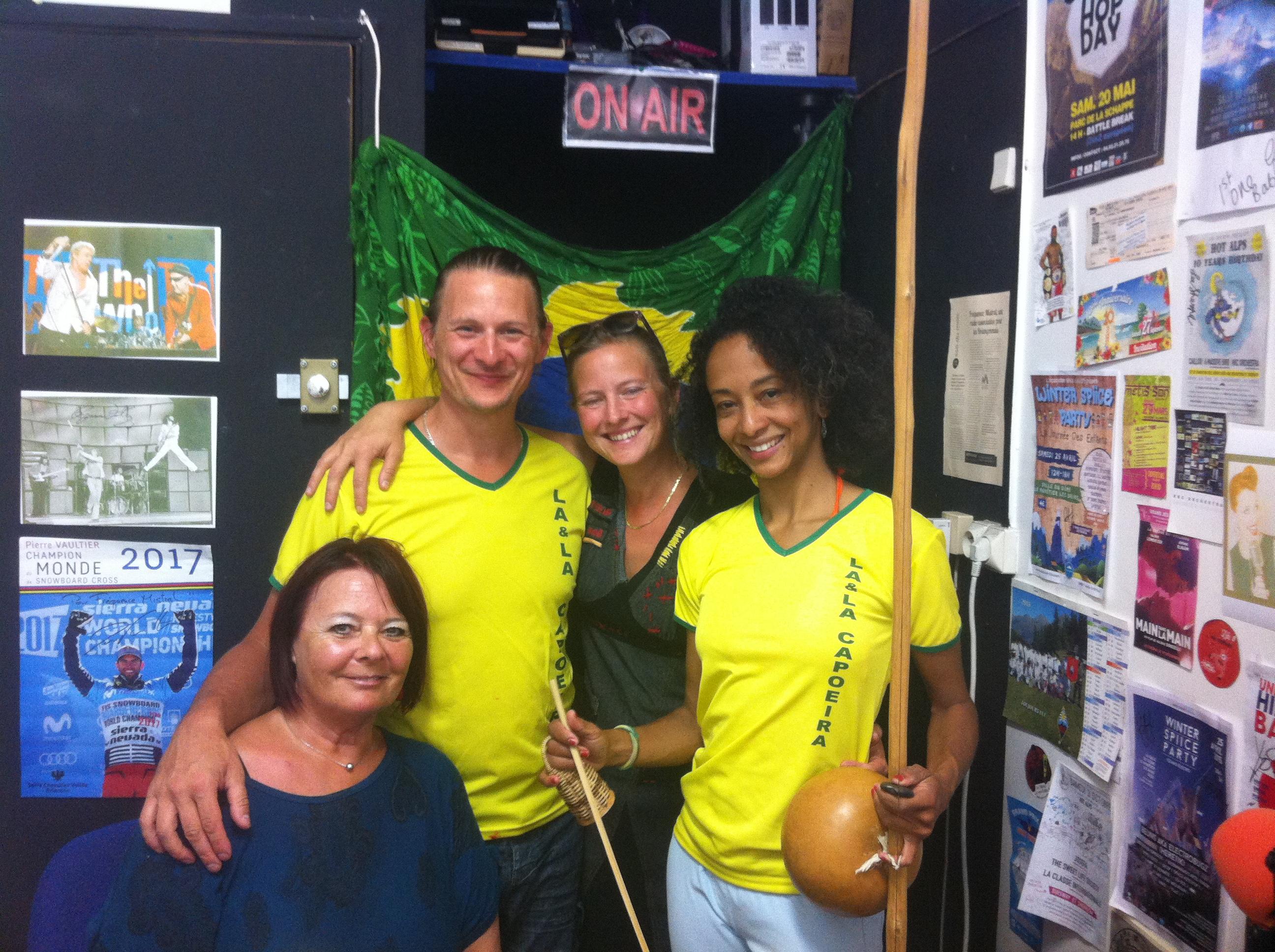 Découverte des chants de la capoeira