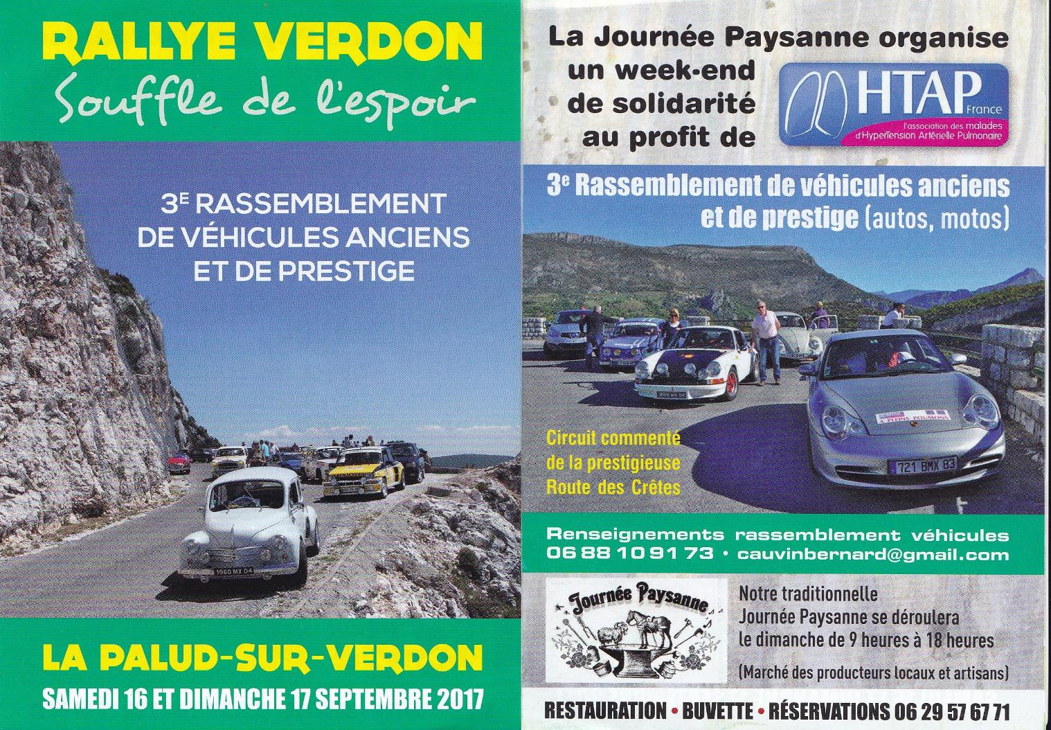 Un week-end à La Palud-sur-Verdon pour évoquer l'hypertension pulmonaire