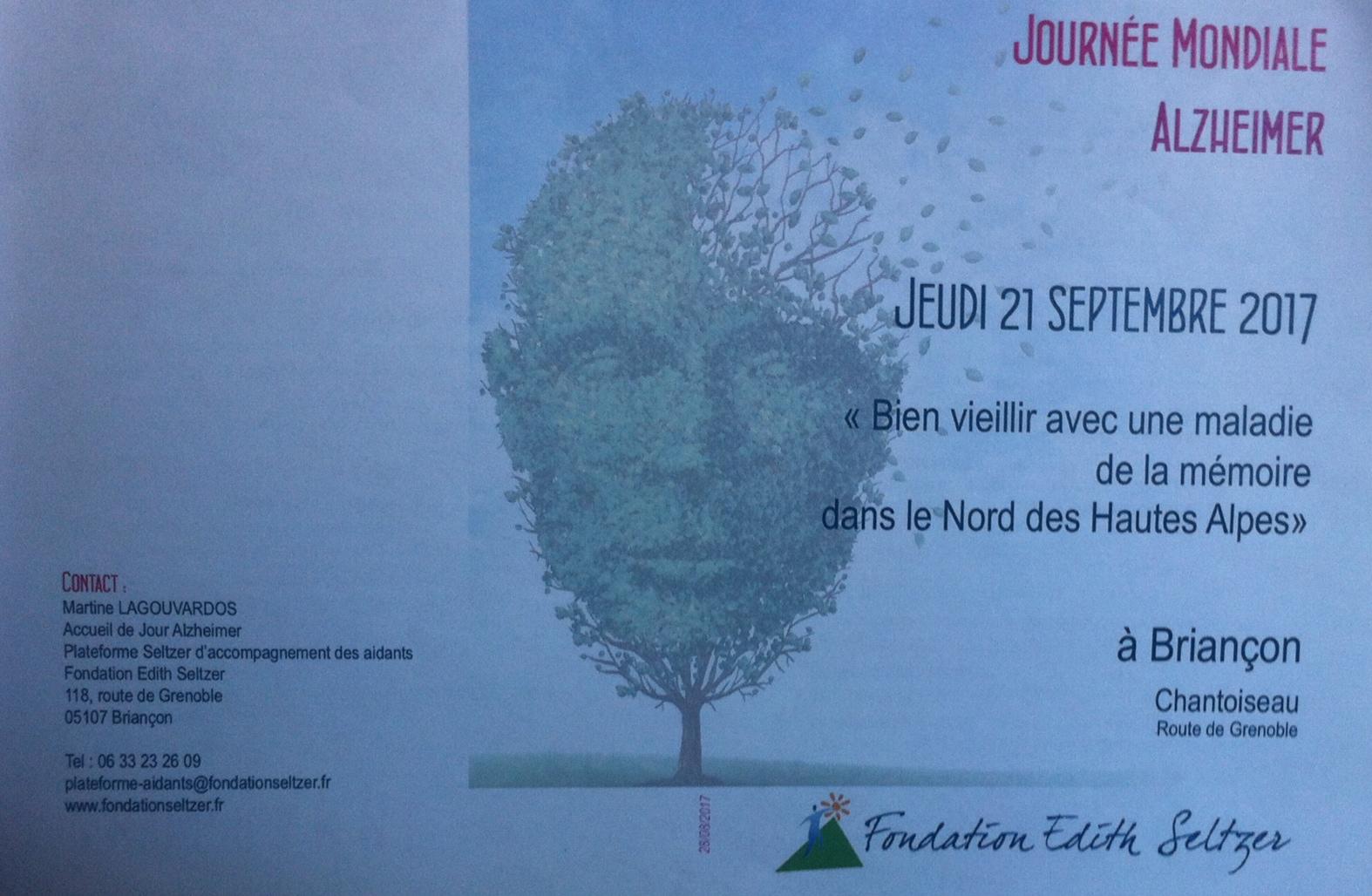 La fondation Edith Seltzer participe à la journée mondiale Alzheimer