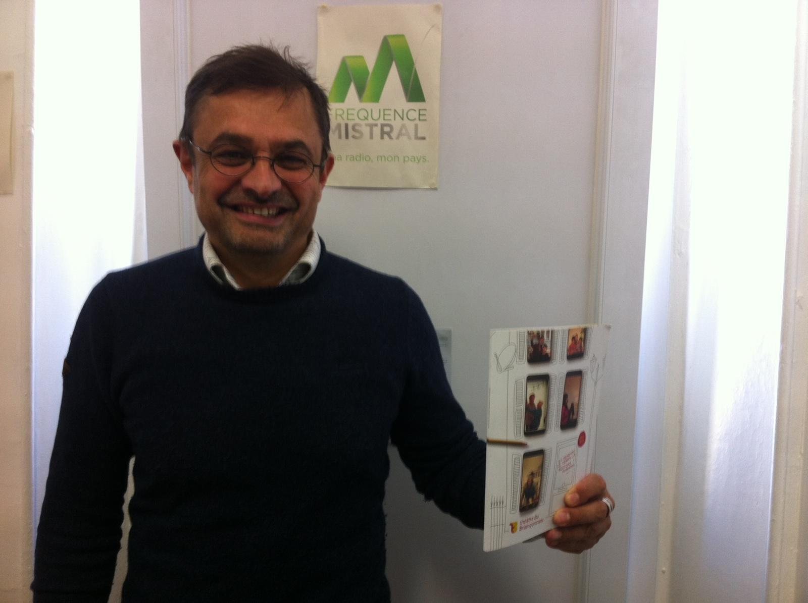 Franck-Eric Retière - Directeur Thèâtre du Briançonnais