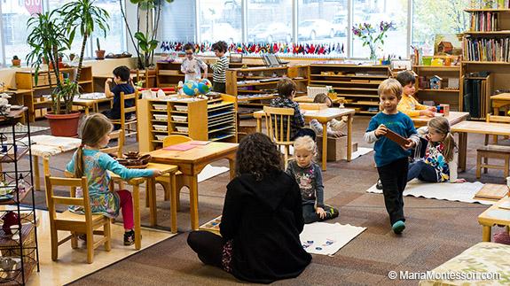 Pornic - 16/11/2018 - Une école Montessori ouvre ses portes à Pornic